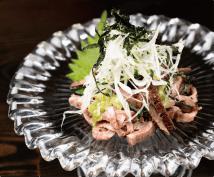 ローストビーフわさび醬油ユッケ